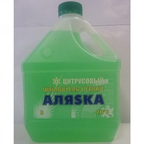 АЛЯСКА Очисник скла -20С лимон, 3л