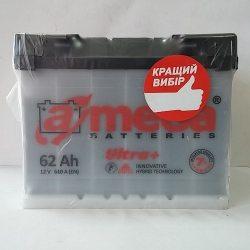 Аккумулятор A MEGA BATTERIES Ultra+ 6СТ-62-АЗ (0)