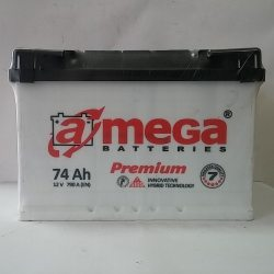 Аккумулятор A MEGA BATTERIES Premium 6СТ-74-АЗ (0)