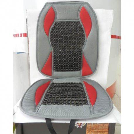 Накидка на сидіння RF-2674B grey/red KSC-0060