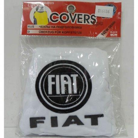 Накидка на підголовник (білий) FIAT