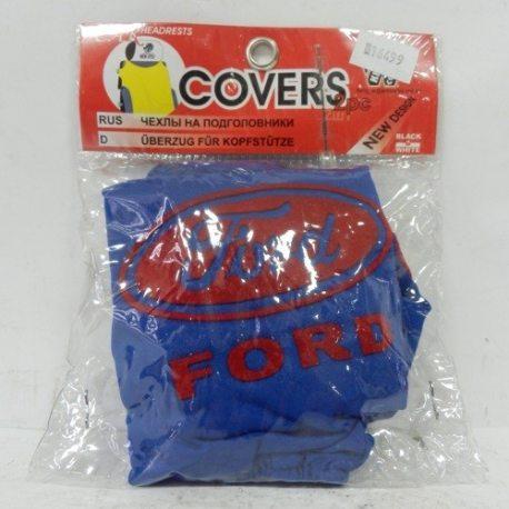 Накидка на підголовник з текстильного матеріалу FORD (синій)