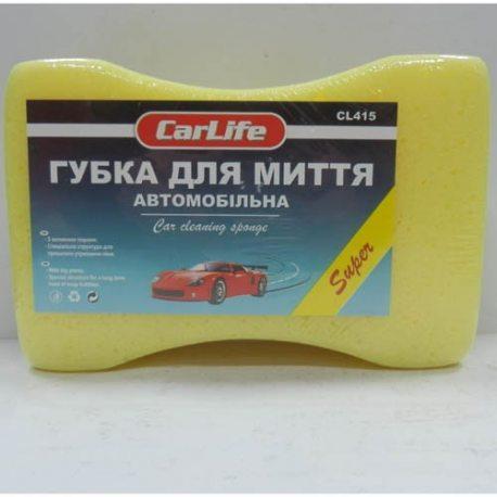 CarLife Губка для миття автомобіля з великими порами SUPER (CL-415)