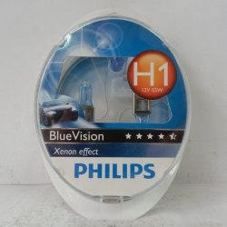 Лампа PHILIPS 12258BV KIT 2H1 12V 55W+2W5W SET BLUEVISION
