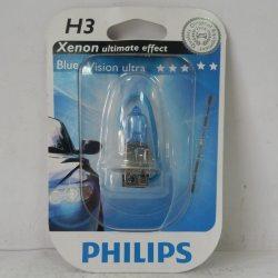 Лампа PHILIPS 12336BV BLISTER H3 12V 55W PK22S BLUEVISION