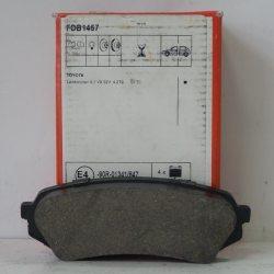 Ferodo Колодки тормозные дисковые FDB 1457 (Toyota Land Cruiser)
