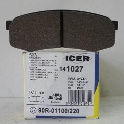 Icer Колодки тормозные дисковые IC141027 (Toyota)