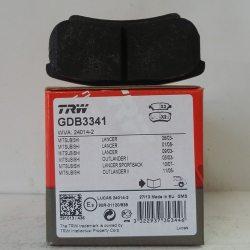 TRW Колодки тормозные дисковые GDB 3341 (Mitsubishi Lancer)