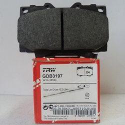 TRW Колодки торм. дисковые GDB 3197 (Toyota Land Cruiser 100)