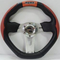Руль MOMO red 13021