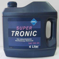 ARAL Масло моторное синтетическое Super Tronic 0W-40, 4л