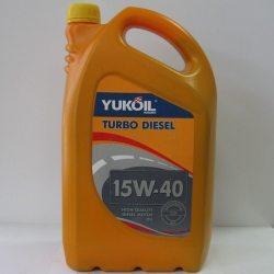Масло моторное YUKOIL TURBO DIESEL 15W-40, API CD, 5л