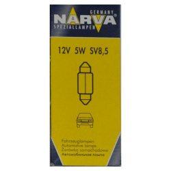 Лампочка Narva 12V C5W 5 SV8,5