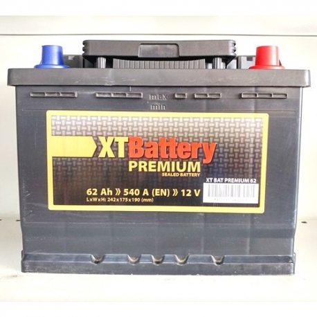 XT Акумулятор BAT PREMIUM 62 (0)
