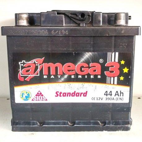 Акумулятор A MEGA STANDARD 6СТ-44-Аз (1)