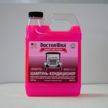 DoctorWax шампунь-кондиционер (концентрат) (DW8114), 946мл