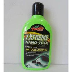 Turtle Wax Автошампунь Extreme Nano Tech WASH & WAX 500мл (T5694/FG6501)