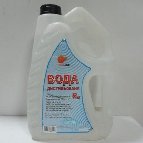 PITLINE NEW вода дистільована (поліетилен), 5л