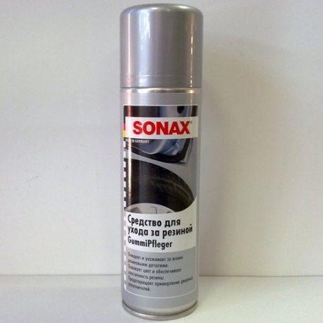 SONAX 340200 Очиститель резины (эффект мокрой резины) GummiPfleger, 0,3л