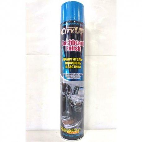 City UP Очиститель-полироль пластика CA-840, парфюм, 750мл
