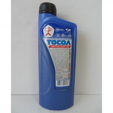 Гостовский Жидкость охлаждающая Тосол-40, 0,850кг