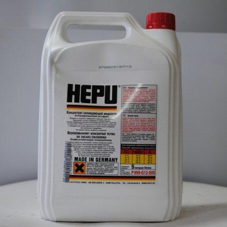 Антифриз концентрат HEPU P999-G12 (1:1, -40°C), 5л