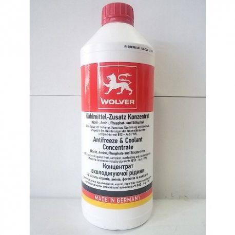 Wolver Жидкость охлаждающая конц. Antifreeze G12, 1.5л ПЕ