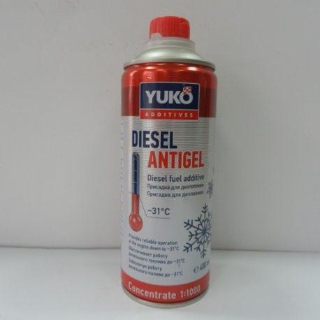 YUKOIL Антигель для дизельного палива, 0,4л