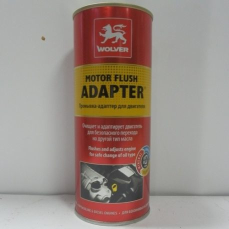WOLVER Промивка двигуна MOTOR FLUSH ADAPTER, 0.35л, банка easy-open