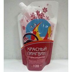 Verylube Омыватель стекла зимний КРАСНЫЙ ПИНГВИН до -120 С (суперконцентрат),пакет, 1л