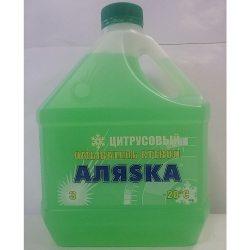 АЛЯСКА Очиститель стекла -20С лимон, 3л