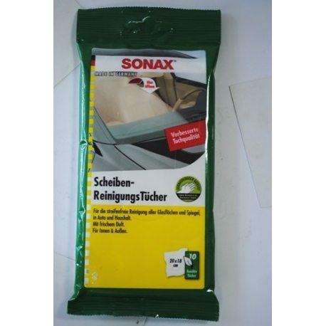 SONAX 415000 Салфетки для очистки стекла Scheibenreinigungs10шт
