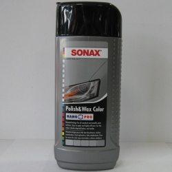 SONAX 296341 Поліроль NanoPro з воском кольоровий сірий, 0.25 л