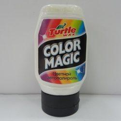 Turtle Wax Полироль цветообогащенный Color Magic белый 300мл