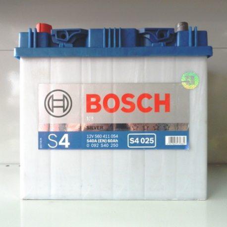 Акумулятор BOSCH 6CТ-60 Asia 0092S40250