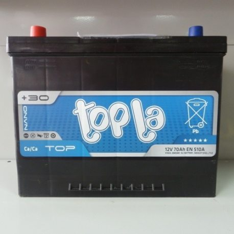 Аккумулятор Topla 70Ah/12V Top/Energy Japan 57024