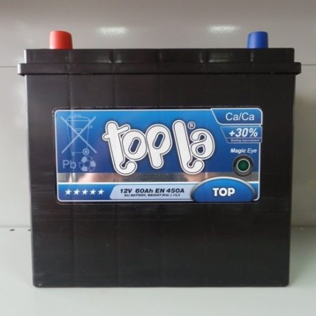 Акумулятор Topla 60Ah/12V Top/Energy Japan 56069