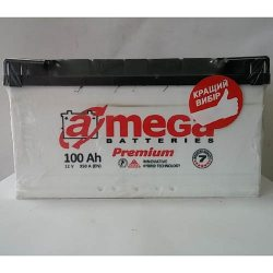 Аккумулятор A MEGA BATTERIES Premium 6СТ-100-АЗ (0)