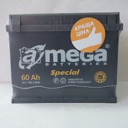 Акумулятор A MEGA BATTERIES Special 6СТ-60-АЗ (0)