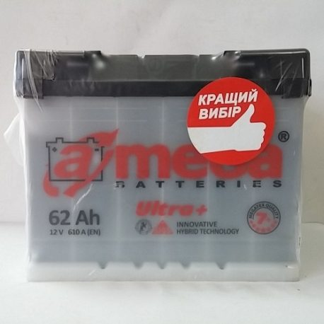 Аккумулятор A MEGA BATTERIES Ultra 6СТ-62-АЗ (1)