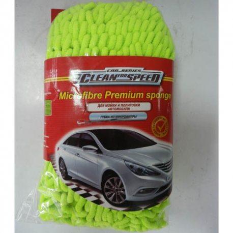 Clean for Speed Губка из микрофибры для мойки и полировки