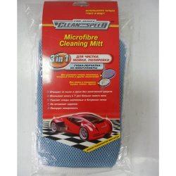 Clean for Speed Губка автомобильная микрофибра Рукавичка для