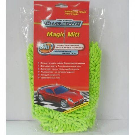 Clean for Speed Губка автомобильная микрофибра Волшебная