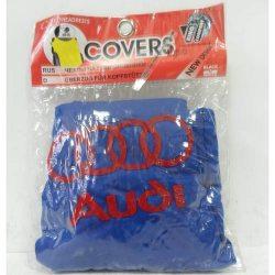 Накидка на подголовник из текстильного материала AUDI (синяя)