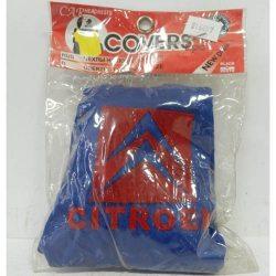 Накидка на підголовник з текстильного матеріалу CITROEN (синій)