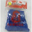 Накидка на підголовник з текстильного матеріалу SAMARA (синій)