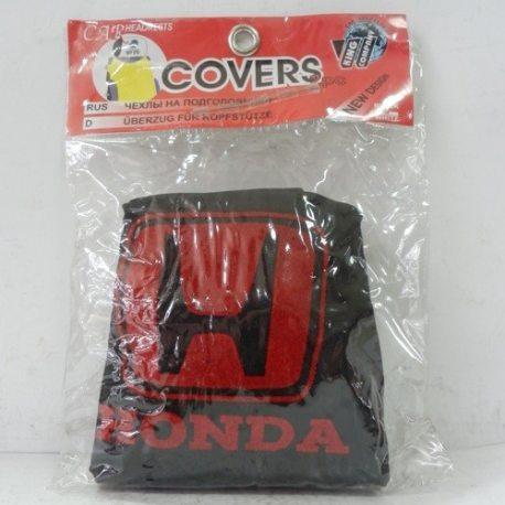 Накидка на подголовник из текстильного материала HONDA (черная)