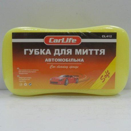 CarLife Губка для миття автомобіля з дрібними порами SOFT