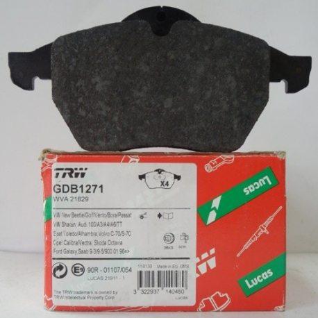 Колодки гальмівні TRW передні GDB 1271 (OPEL Vectra)