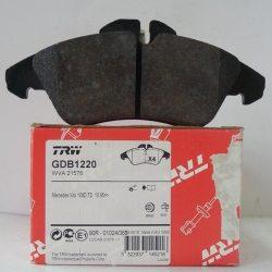 Колодки тормозные TRW передние GDB 1220 (МБ спринтер)